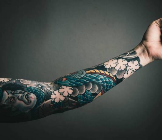 tatuaggi e sudorazione