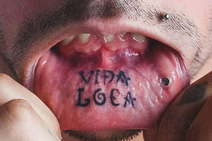 tatuaggi sulla bocca
