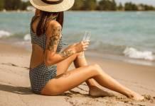 bagni in mare rovinano il tatuaggio
